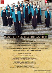 Locandina Rassegna di Teatro Antico